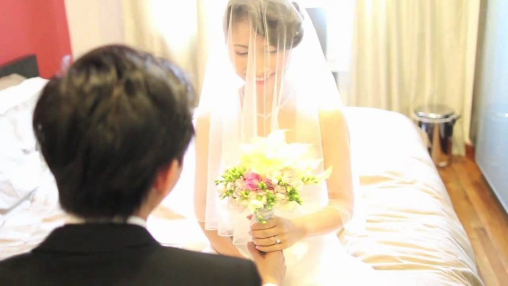 wedding videographer singapore