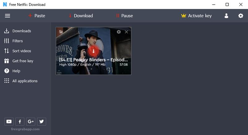 Netflix subtitles downloader